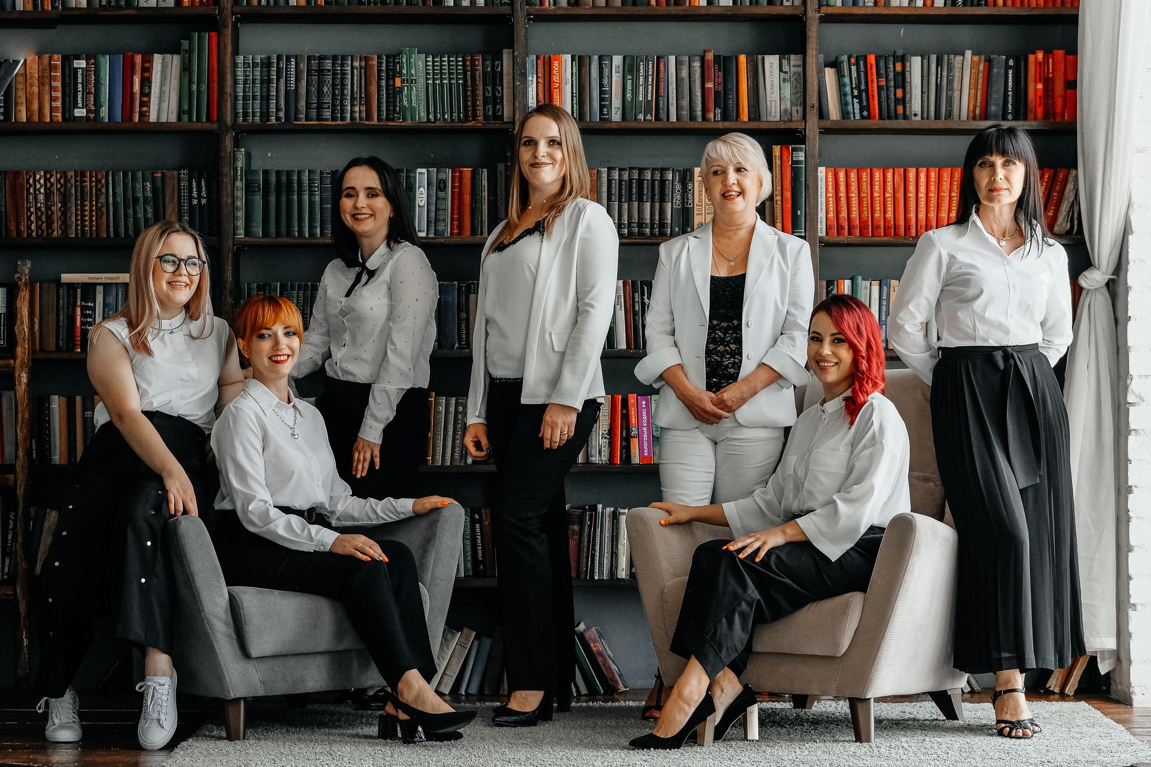 Сотрудницы компании Сибрегцентр